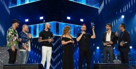 Alessandra Amoroso e Boomdabash ieri sera all'arena di Verona